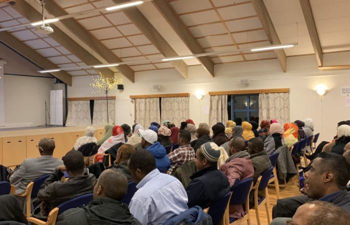 Dialogmøte mellom Somalisk miljøet i Fredrikstad og Barnevern